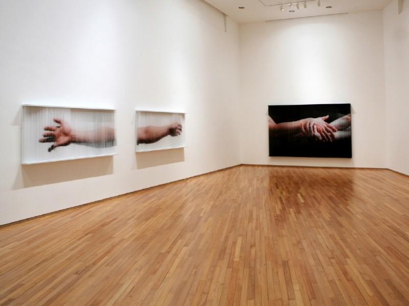 (2)gallery IHN perceptual_ Mirror Installation view  2007